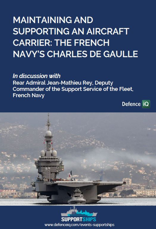 Maintaining and supporting an aircraft carrier: The French Navy's Charles de Gaulle