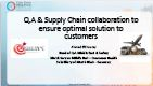 Ensuring Quality through Supply Chain and QA Collaboration