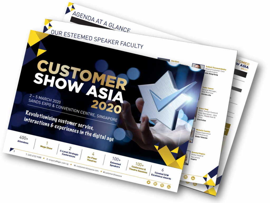 View Your Event Guide – The Customer Show Asia 2020