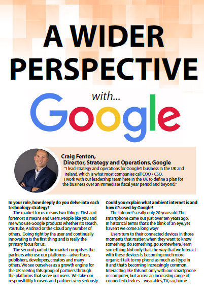 A Wider Perspective with Google