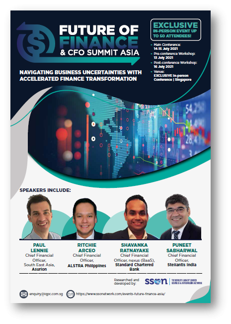 View the full 2021 Future of Finance and CFO Asia Summit event guide