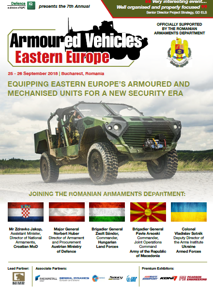 Armoured Vehicles Eastern Europe Agenda