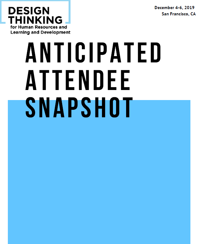 Anticipated Attendee Snapshot