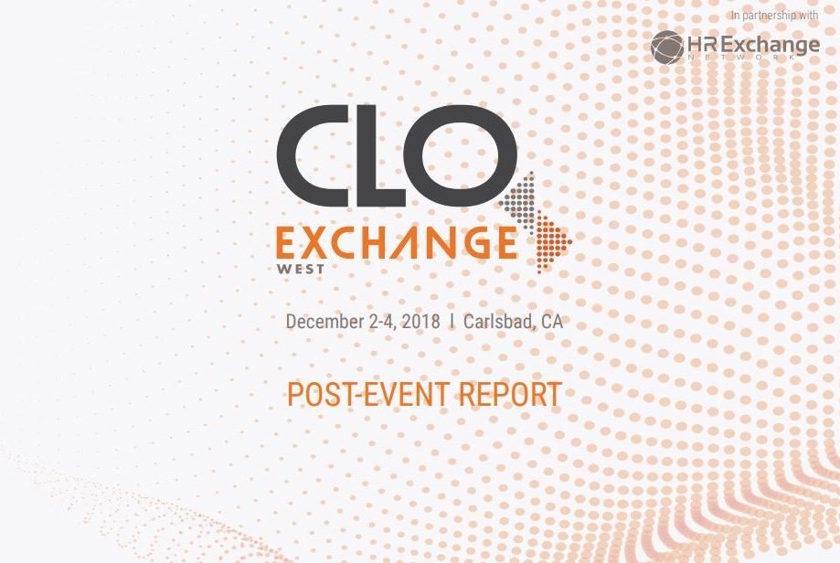2018 CLO Exchange West Post Event Report