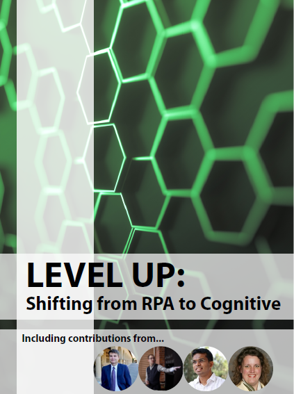 From RPA to Cognitive
