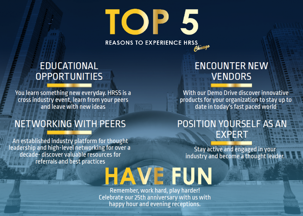 Top 5 Reasons to Attend the 25th HRSS