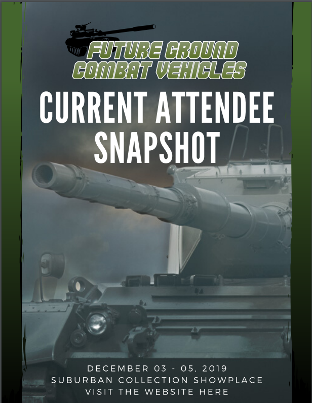 Future Ground Combat Vehicles - Current Attendee Snapshot