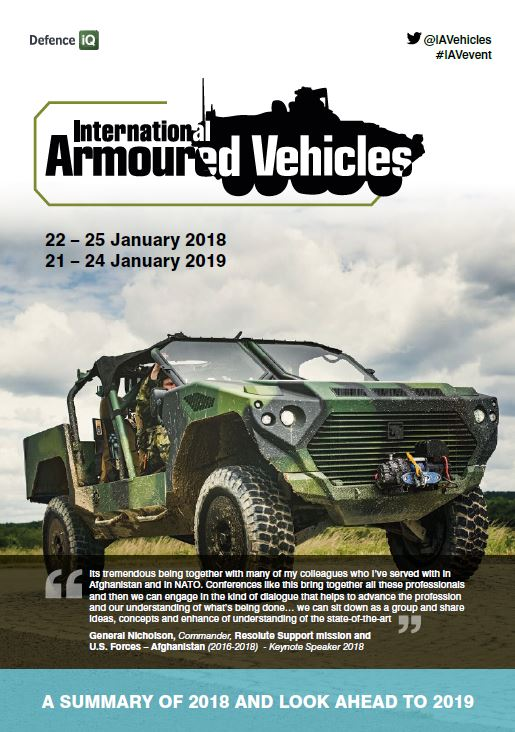 International Armoured Vehicles 2018 Post Show Report