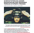 SCIENCE FICTION NO LONGER: ENHANCING MILITARY READINESS THROUGH SYNTHETIC TRAINING
