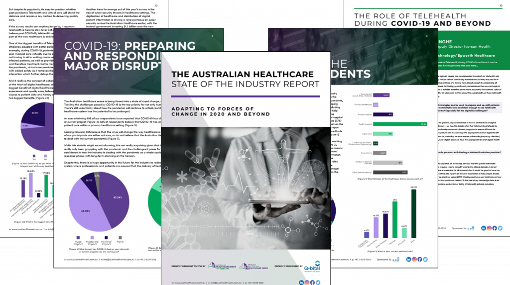 The Australian Healthcare State of the Industry Report: Adapting to Forces of Change in 2020 and Beyond