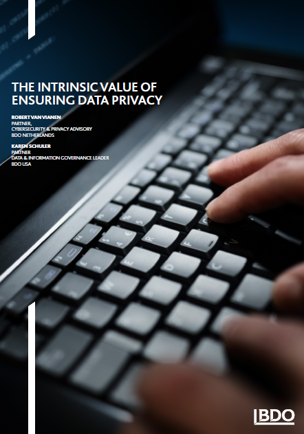 The Intrinsic Value of Ensuring Data Privacy