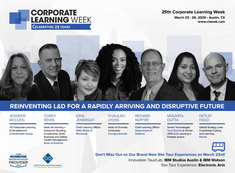 Corporate Learning Week Event Guide