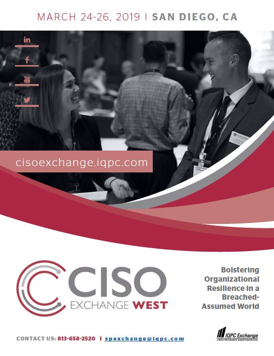 CISO Exchange Agenda