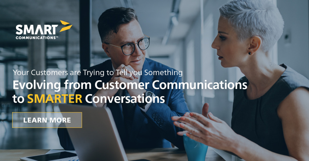 Evolving from Customer Communications to SMARTER Conversations