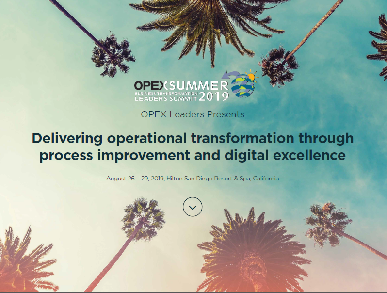 OpEx Conference 2019 | Full Event Guide & Agenda