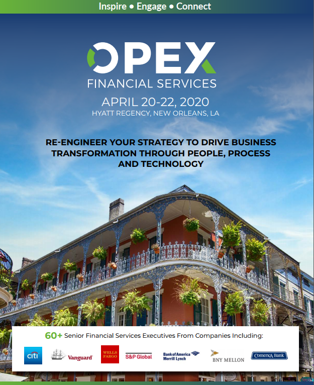 OPEX in Financial Services 2020 Event Guide