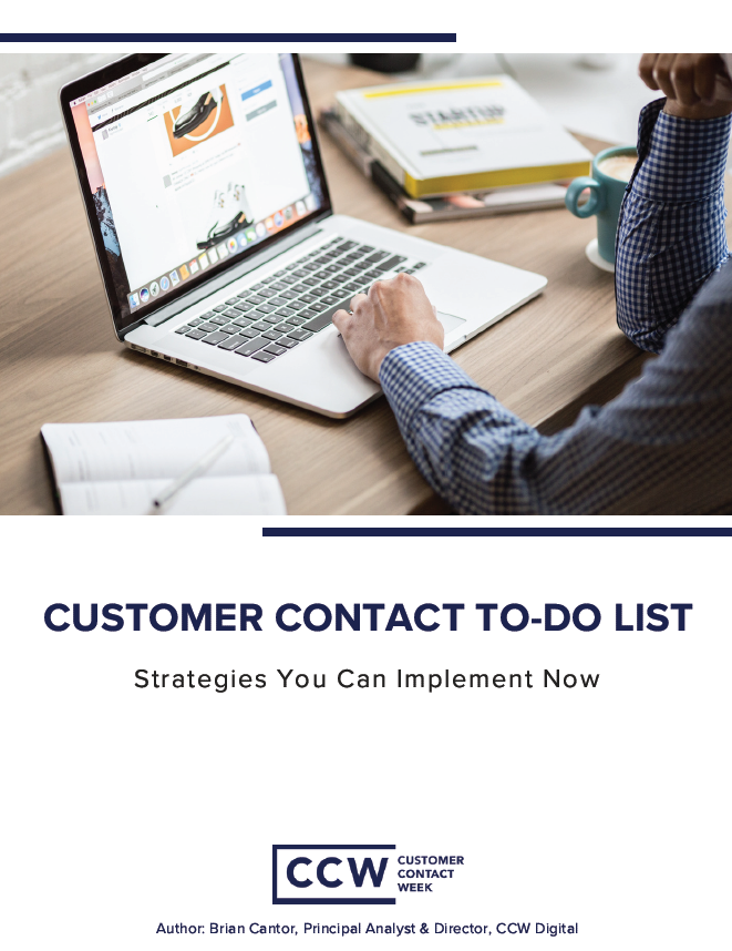 Customer Contact To-Do List