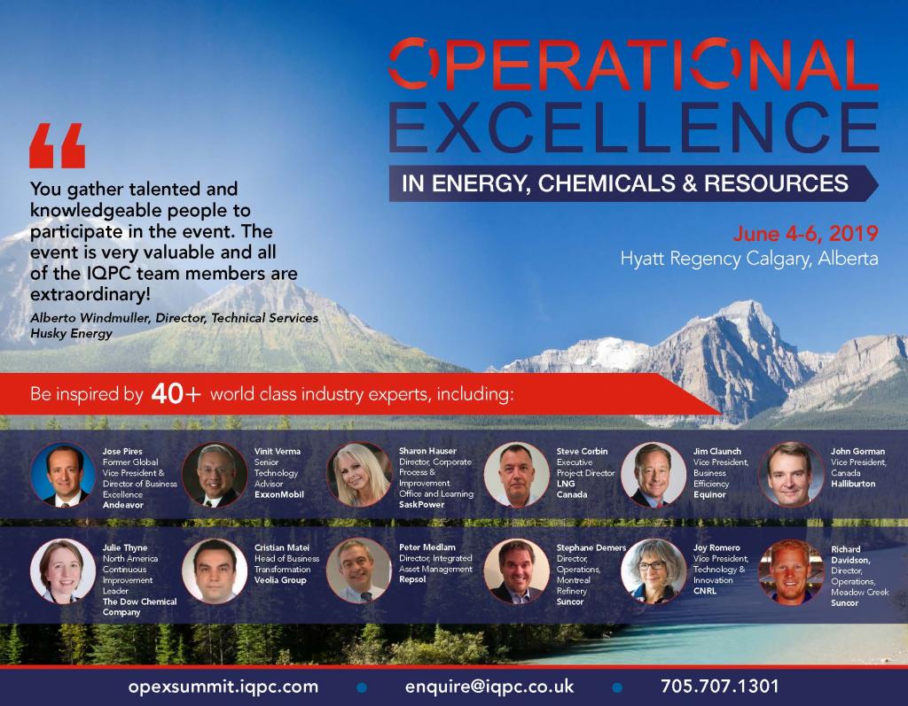 Opex Calgary Agenda