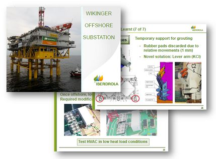 Iberdrola Renewables case study - Wikinger substation: From scratch to production