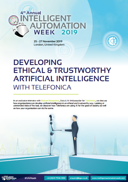 Developing Ethical & Trustworthy Artificial Intelligence with Telefonica