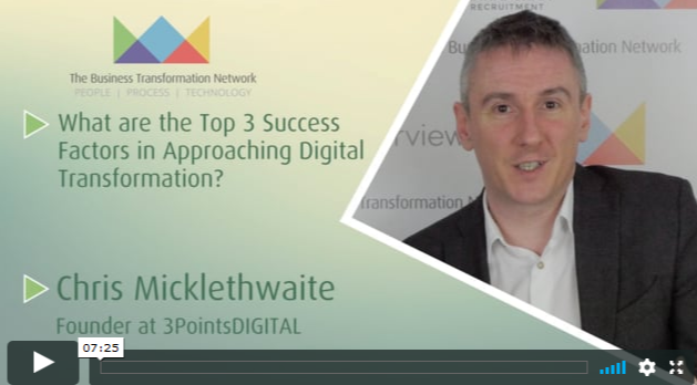 Top 3 Success Factors in Approaching Digital Transformation