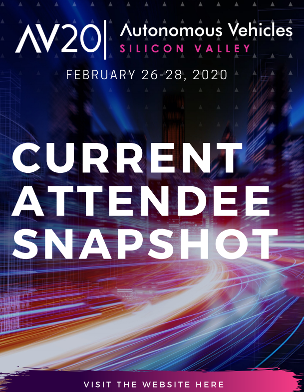 Autonomous Vehicles Silicon Valley Current Attendee Snapshot