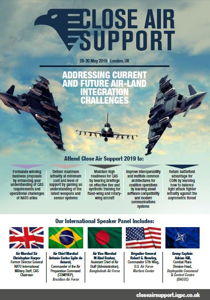 Close Air Support Conference Event Guide