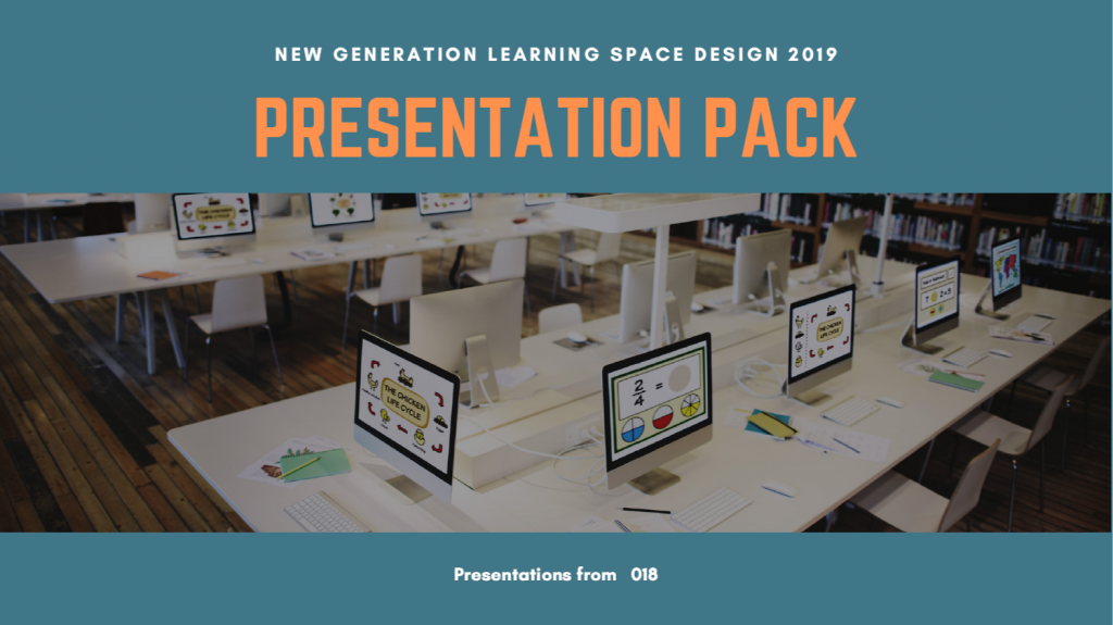 New Generation Learning Space Design Presentation Pack