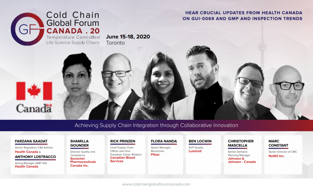 Cold Chain Global Forum Canada Digital Summit Agenda