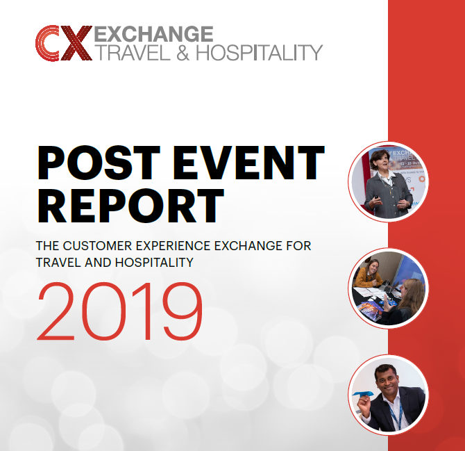 Customer Experience Exchange for Travel and Hospitality Post Event Report 2019