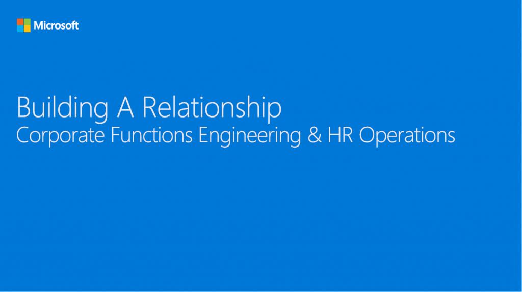 Building a Relationship: Figuring Out a Common Language Between IT and HRSS Teams