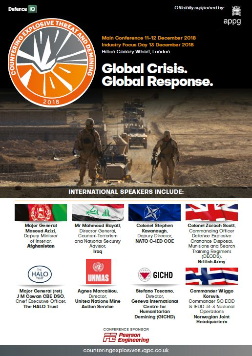 Countering Explosive Threat and Demining: Sponsorship Agenda