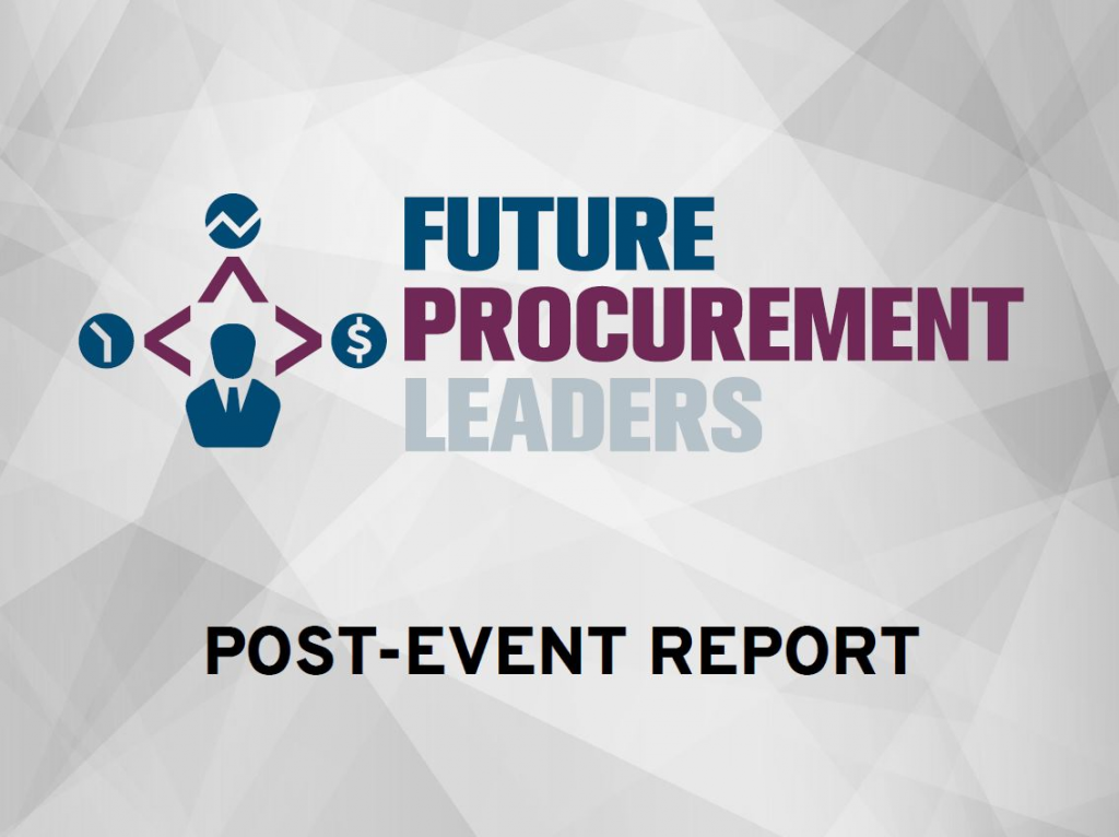 Post-Event Report: Future Procurement Leaders 2019