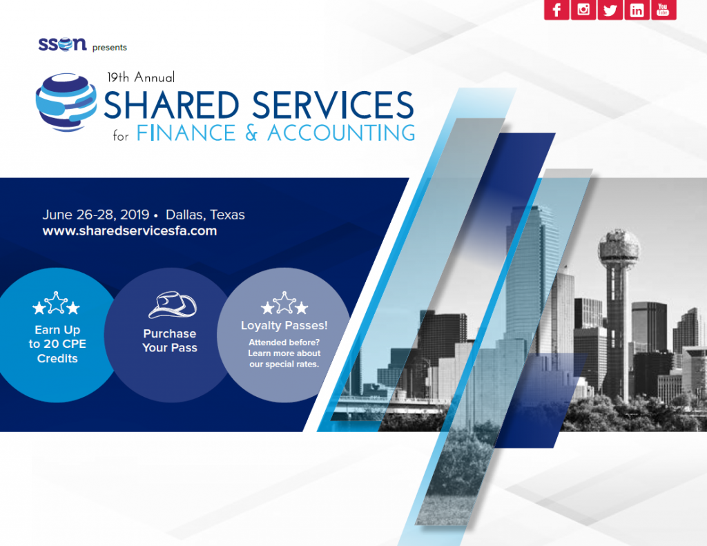19th Shared Services for Finance & Accounting