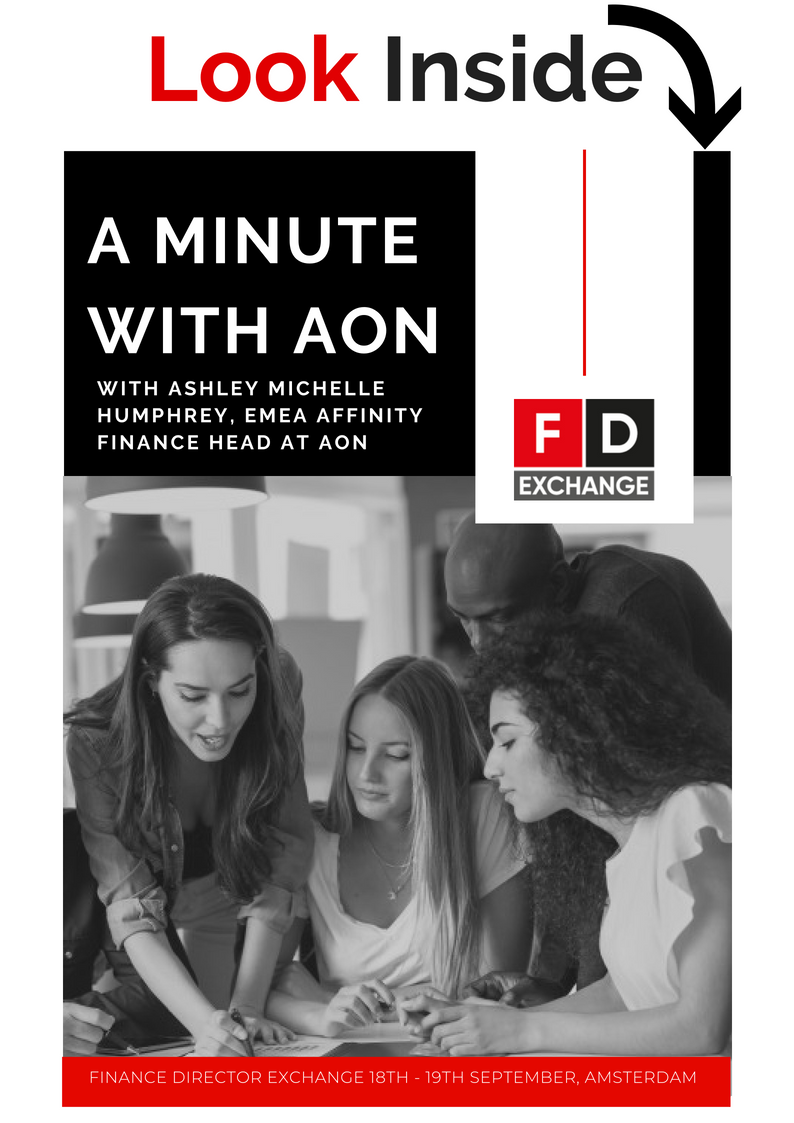A Minute with Ashley Michele Humphrey, EMEA Affinity Finance Head at AON Interview (SPEX)