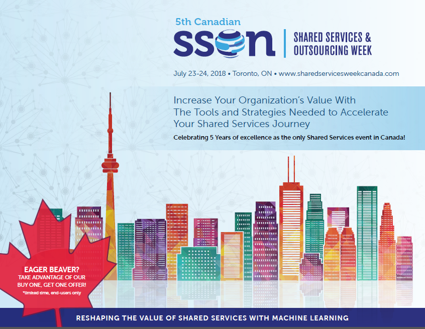 Shared Services & Outsourcing Summit Canada 2018 Agenda