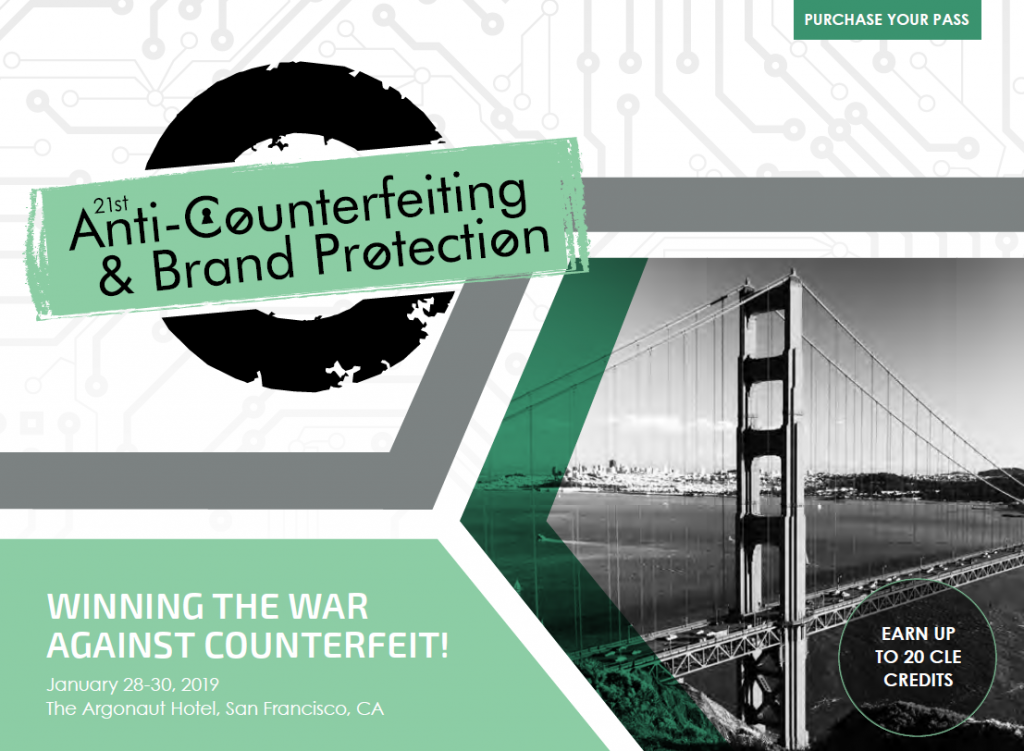 21st Anti Counterfeiting Brand Protection Agenda