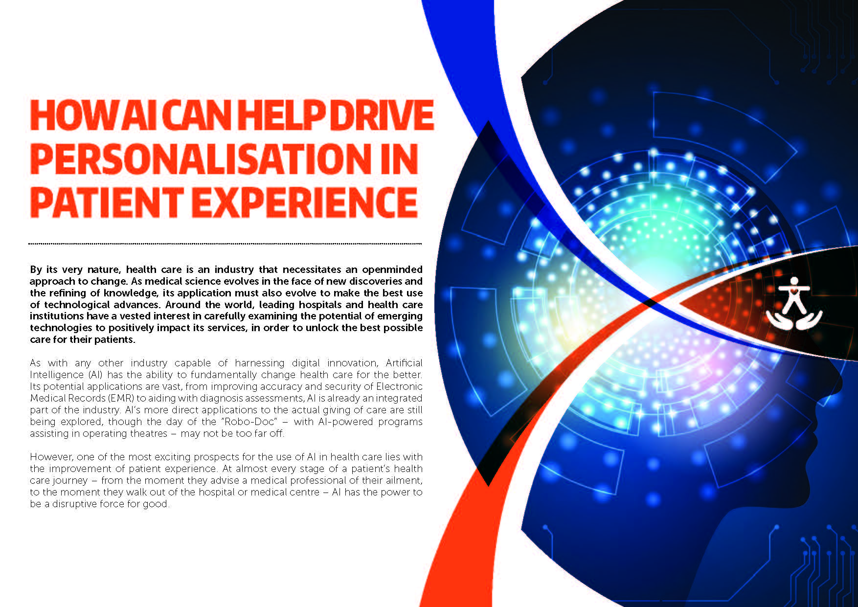 Download the article - How AI Can Help Drive Personalisation in Patient Experience