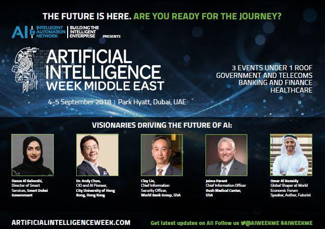 Artificial Intelligence Week – Brochure