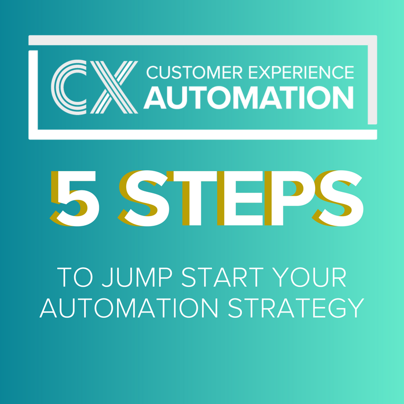 5 Steps to Jump Start Your Automation Strategy