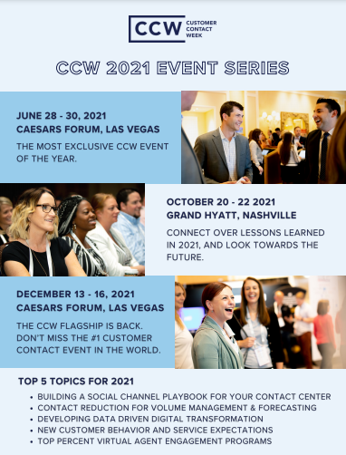 CCW 2021 Event Series
