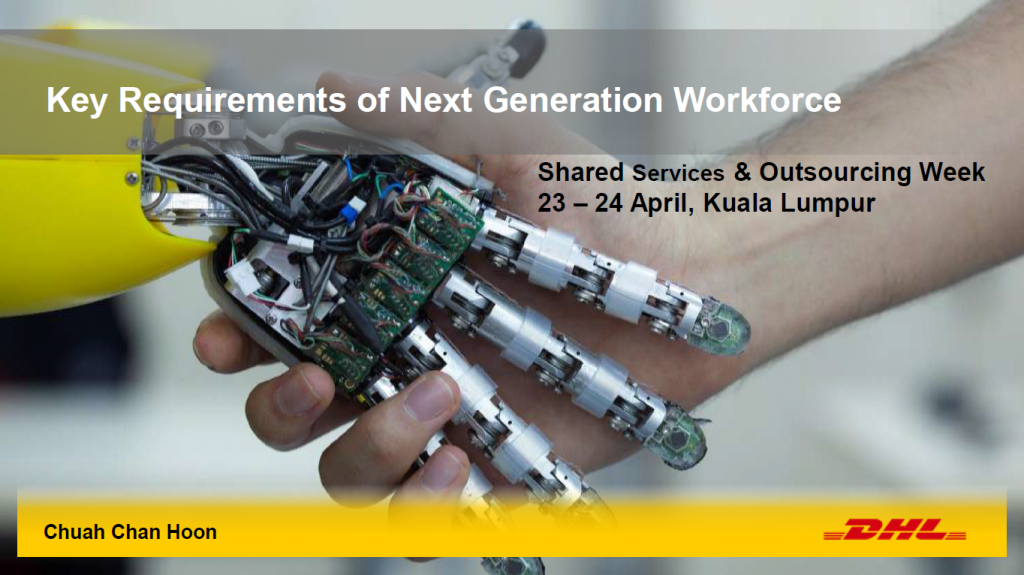 Read the Past Presentation - Key Requirements of Next Generation Workforce