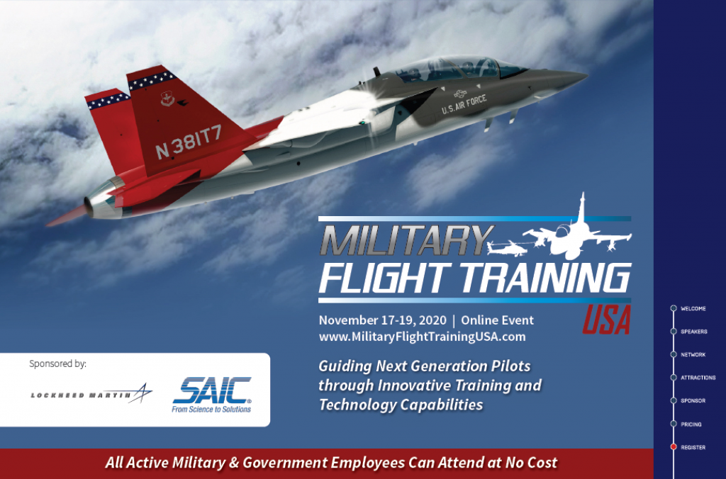 Military Flight Training USA 2020 Online Event Agenda
