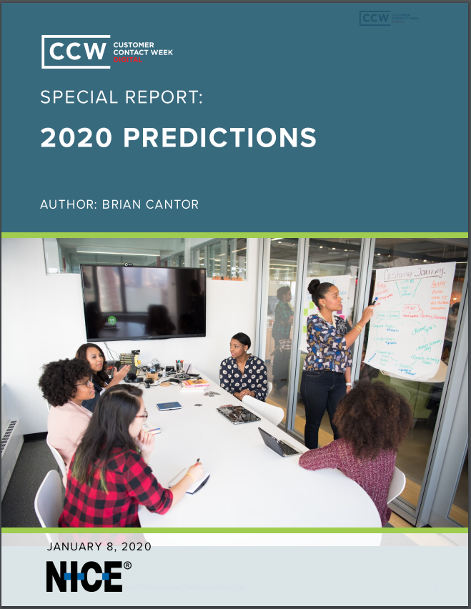 Special Report: 2020 Contact Center Predictions