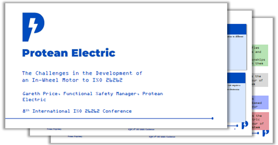 Presentation on ISO 26262's role in overcoming hazards at vehicle level