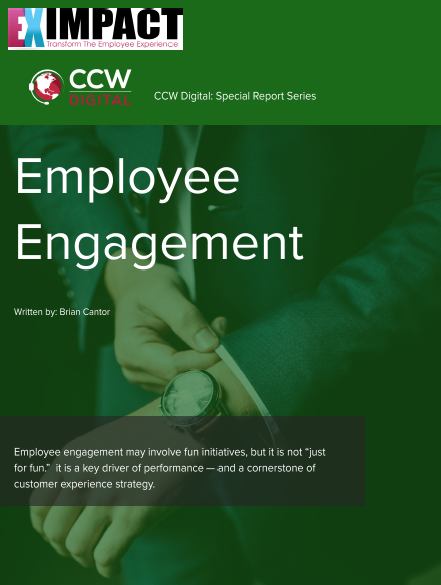 Employee Engagement as the Cornerstone to CX