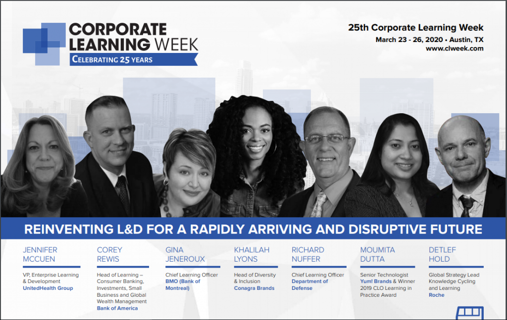 2020 Corporate Learning Week Program..