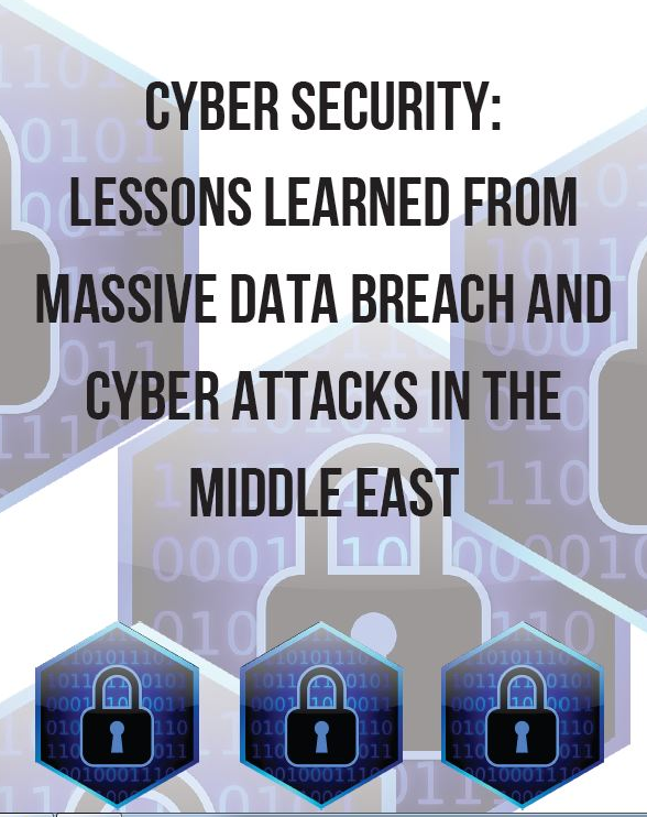 SPEX CYBER SECURITY LESSONS LEARNED FROM MASSIVE DATA BREACH AND CYBER ATTACKS IN THE MIDDLE EAST