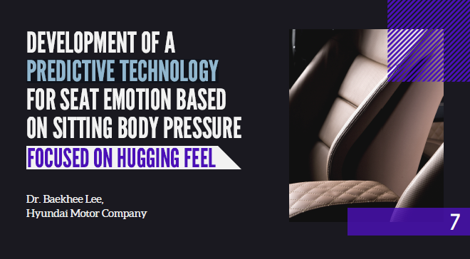Partner Content - Rethinking Car Seat Designs + Hyundai Presentation - Hugging Feel