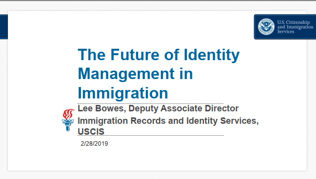 The Future Of Identity Management In Immigration